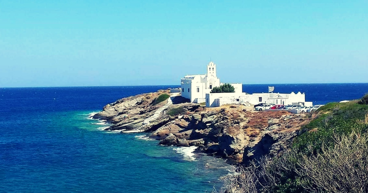 Yoga and hiking in Sifnos